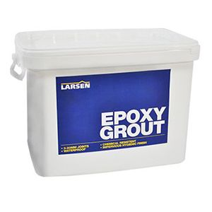 Larsen Epoxy White Grout 5kg