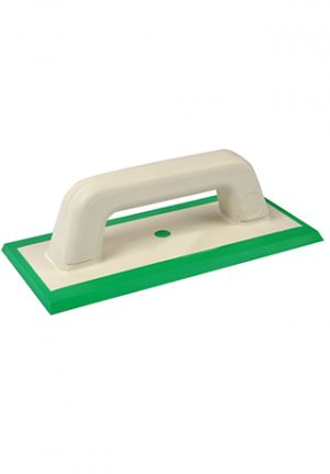 Green Hard Rubber Dual Edge Float