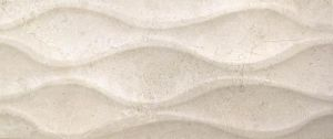 Luxe Ivory Relieve 25x60cm