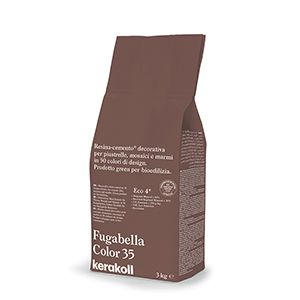 Kerakoll Fugabella Colour Grout 35 Brown 3KG