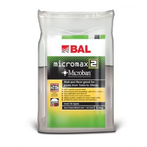Bal Micromax2 Grout White 2.5kg