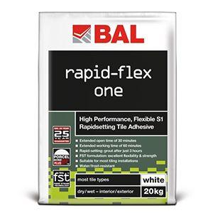 BAL Rapid-Flex One White 20KG